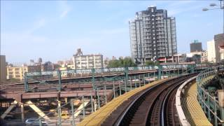 Time Lapse Flushing Bound 7 Train From 42nd Street Times Square To Flusing Main Street