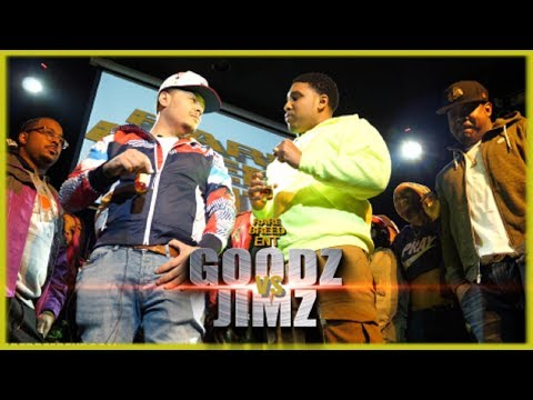 GOODZ VS JIMZ RAP BATTLE - RBE