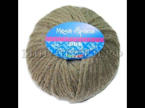 Обзор пряжи bbb Мега Альпака - Mega alpaca + шапка бини