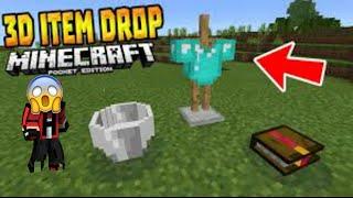 3D Drop?-Minecraft pe mod tanıtımları -3D drop mod