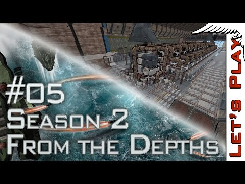 From the Depths #05 BUILDING: Resource Barge, Season 2 - Let's Play