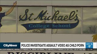 Police investigate alleged assault video as child porn
