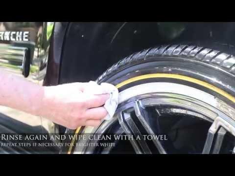 HOW TO CLEAN YOUR VOGUE WHITE WALL TIRES