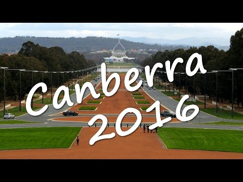 Canberra Road Trip - July 2016