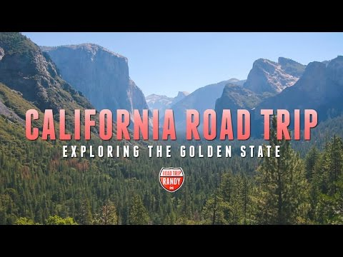 California Road Trip Travel Montage: Exploring the Golden State