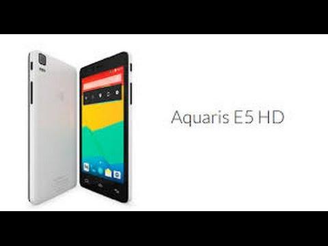 Unboxing-Bq Aquaris E5 HD-@bqreaders