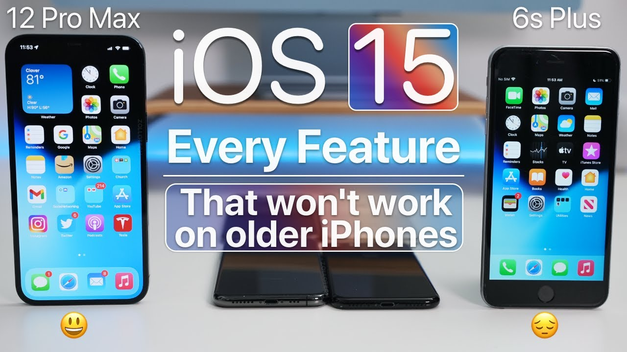 Download iOS 15 - Every Feature That Doesn't Work on Older iPhones
