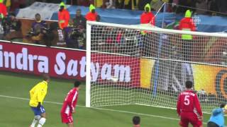 Maicon Golazo - Brazil v North Korea 2010 World Cup