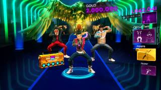 Dance Central 3 DLC - Lights (Hard) - Ellie Goulding - Gold Stars