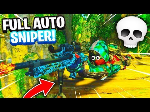 PRONE ONLY CHALLENGE with NEW FULL AUTO DLC SNIPER on BO4 (Black Ops 4 Vendetta Bipod Operator Mod)