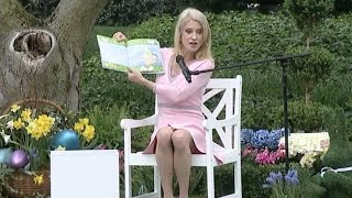 "Kellyanne Conway Reads ""God Gave Us Easter"" To Kids At White House Easter Egg Roll"
