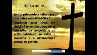 EBD - Panorama Bíblico - Habacuque e Sofonias