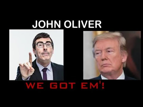 Possibly John Oliver's funniest skit this season!! We Got Him Compilation.