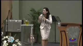 CULTO AVIVAMENTO PENTECOSTAL - 18-02-2013 - Pastora  Cristiane