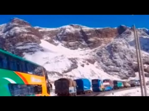Ticlio: nevada bloqueó carretera central por tercer día consecutivo