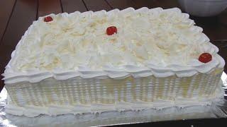 Como confeitar bolo com APENAS 1 bico pitanga | Decoração fácil passo a passo.