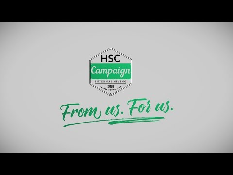 2016 HSC Campaign - From us. For us.