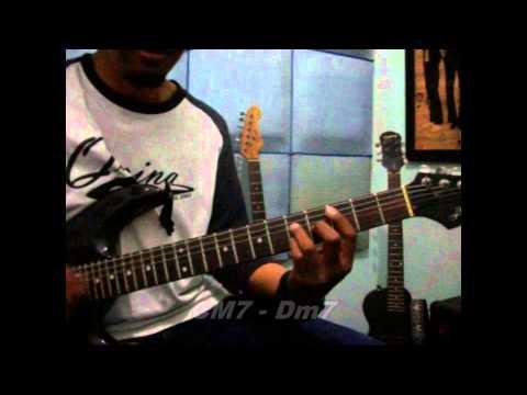 Belajar Gitar Menghujam Jantungku - Tompi