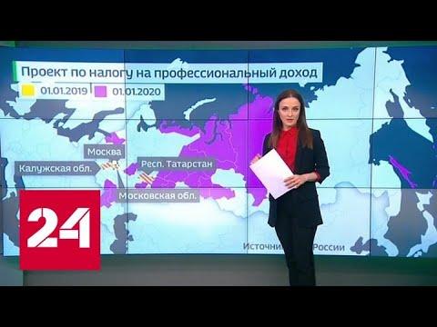 Итоги и планы ФНС: сознательные самозанятые и новый подход ко льготам для бизнеса - Россия 24