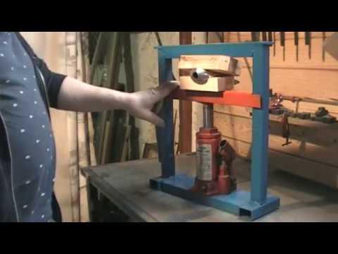 Construction d'une presse hydraulique 5 tonnes … Kastepat