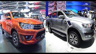 TOP 2016, 2017 Toyota and Ford SUVs 2016, 2017 Ford Ranger Wildtrak, Toyota Hilux Revo TRD смотреть