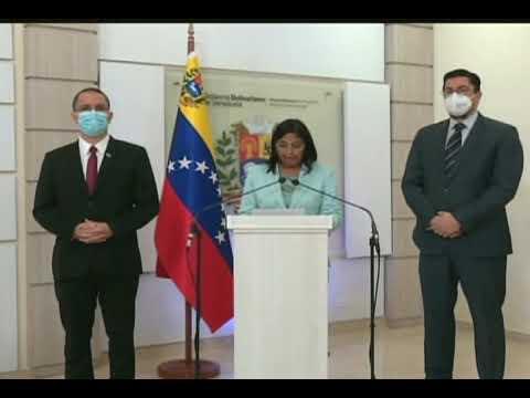 Delcy Rodríguez: Venezuela insta a la ONU reanimar conversación directa con Guyana sobre El Esequibo