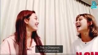 TWICE JIHYO and JEONGYEON are having trouble distinguishing between CHAEYEON and CHAERYEONG