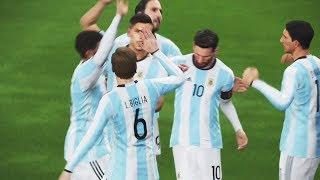 PES 2018 - Demo Gameplay - Brazil Vs Argentina PS4 HD