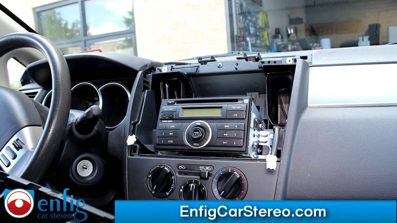 Nissan Versa Radio Removal 2007 2011 Also 2012 Hatchback