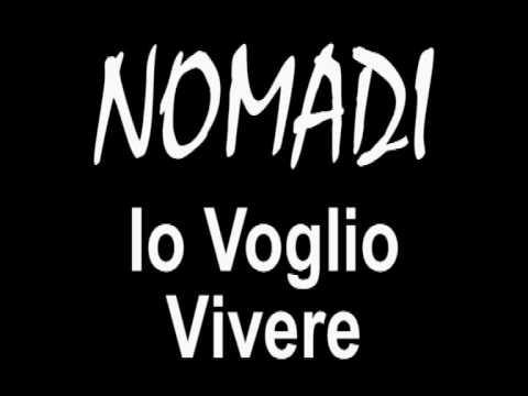 io voglio vivere nomadi