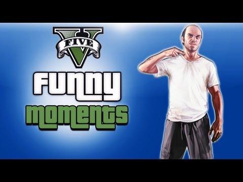 GTA 5 Funny Moments Ep. 4 (Cannon Glitch,...