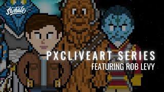 NFT PixelChain Live Art Series w/ HeatherHz & Artist Rob Levy Ep.1