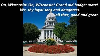 On, Wisconsin! State Song LYRICS WORDS BEST TOP POPULAR FAVORITE TRENDING SING ALONG SONGS
