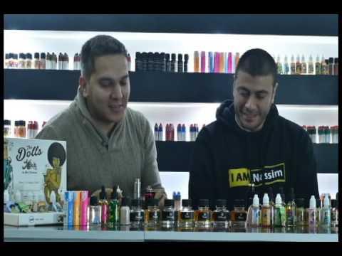 Revue liquides de la gamme dolls par liquideo du shop vapever (DZ Algerien)