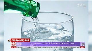 як зробити домашню газовану воду