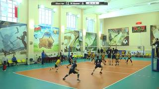 Волейбол. Шахтер - ВК Могилев. Игра 1 (14.10.2017)