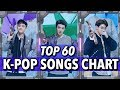 top 60 k pop songs chart • september 2017 week 1