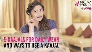 My 5 Favourite kajals + Multiple ways to use them | Sjlovesjewelry