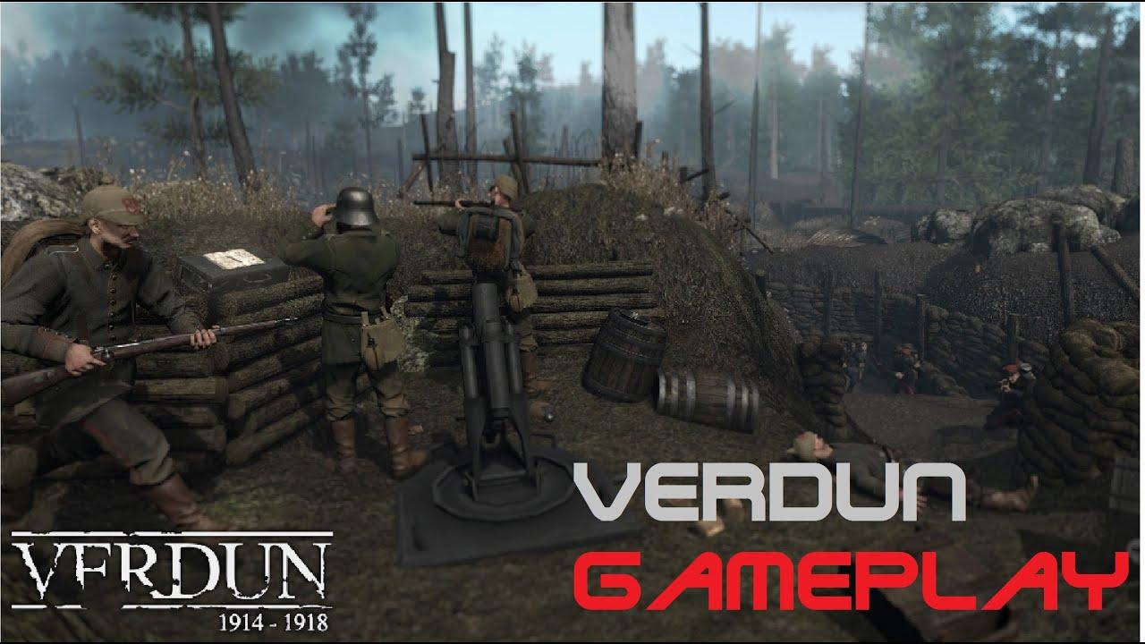 gameplay verdun multiplayer germans v french youtube