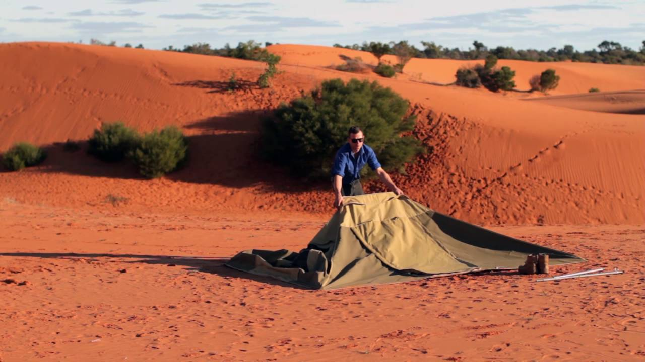 Southern Cross Canvas - Tent Pack Up & Southern Cross Canvas - Tent Pack Up - YouTube