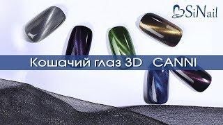 Обзор 3D Кошачий глаз | гель-лак Canni