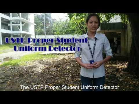 USTP Proper Student Uniform Detector (UPSUD) - PromotionalVideo