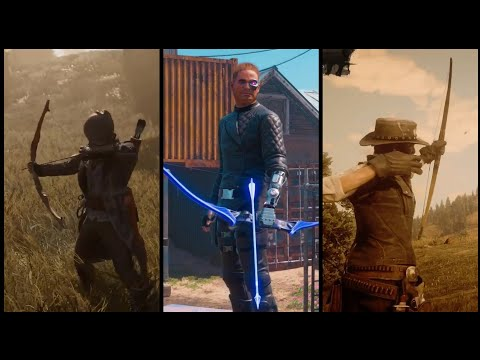 Bow In 10 Different PS4 Games