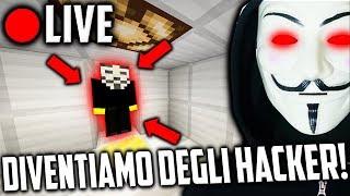 DIVENTIAMO DEGLI HACKER !?!? - 🔴 LIVE