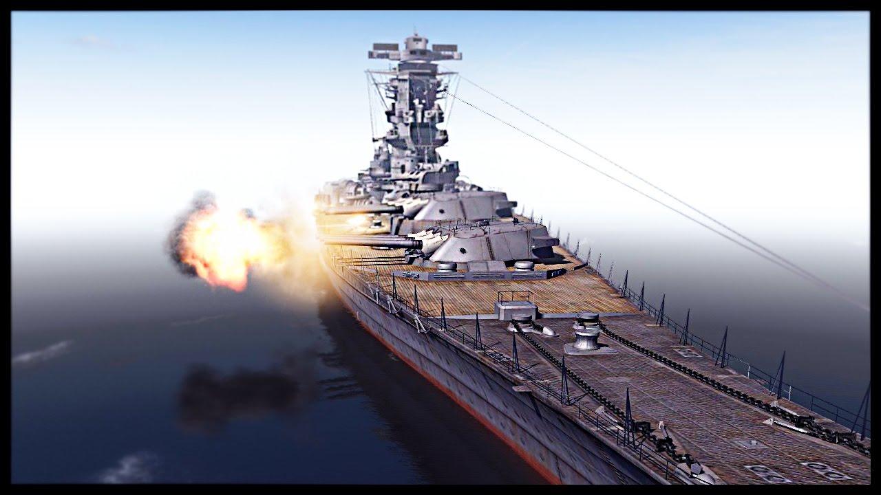 Biggest Battleship Ever Built Ijn Yamato Vs Uss Iowa