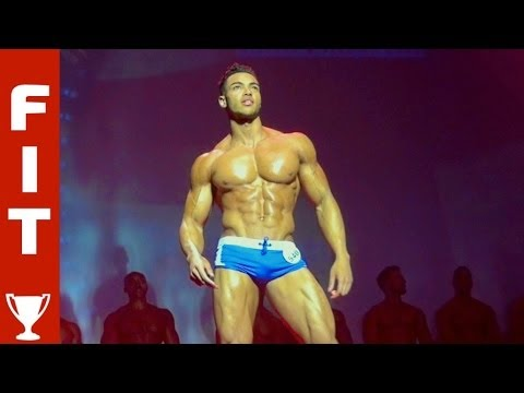 22 YEAR OLD TAKES MUSCLE PRO TITLE - \'Future Fitness Star\' Justin wins WBFF London