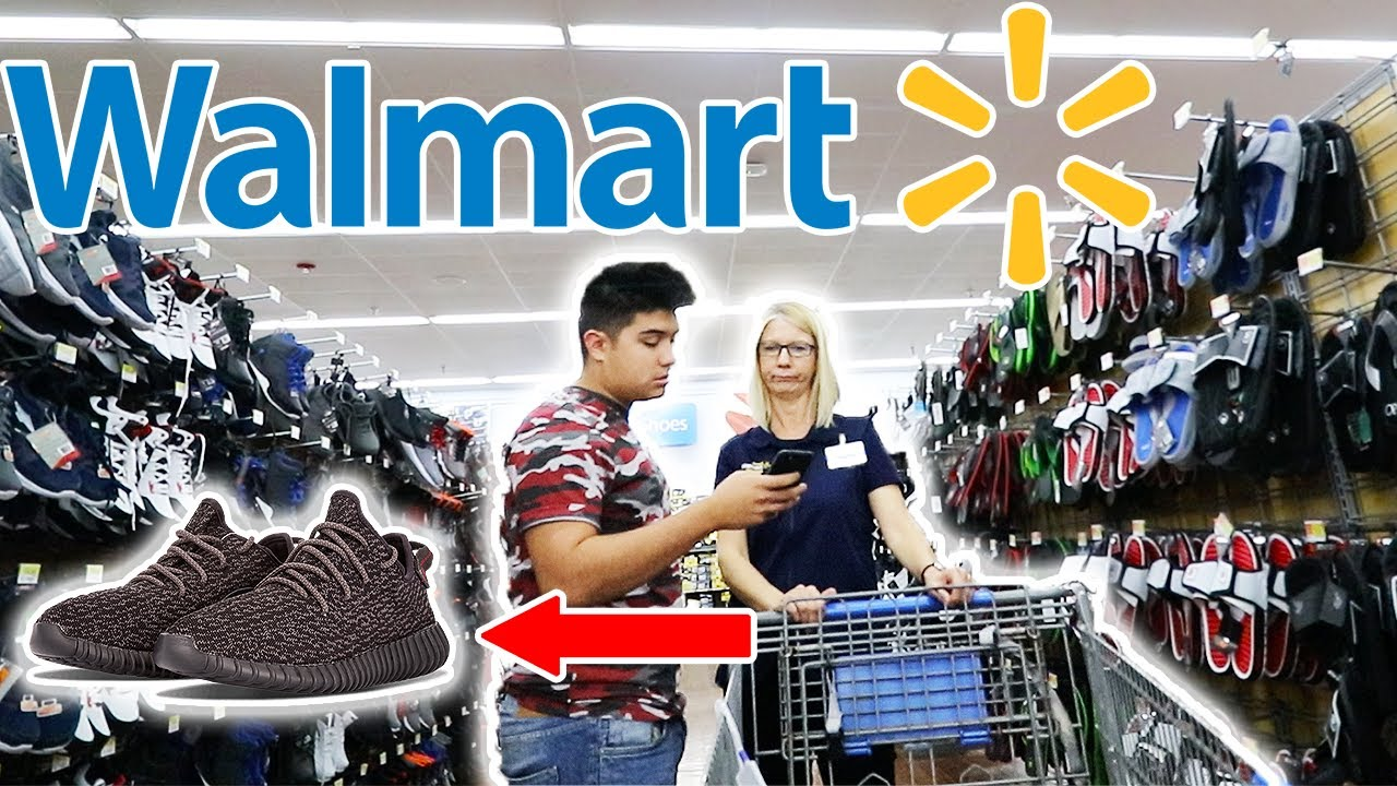 ASKING FOR THE NEWEST YEEZYS AT WALMART