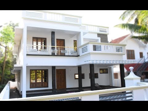 Angamaly, 8 cents plot and 2900 sq ft, contemporary house