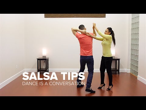 Dance is a Conversation, Not a Fight - Salsa Tips | Dance Dojo Online Salsa Lessons