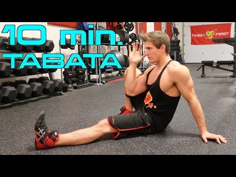 10 Minute Home - BODYWEIGHT TABATA - Weekend Workout! | STAY LEAN WHILE BUILDING MUSCLE!